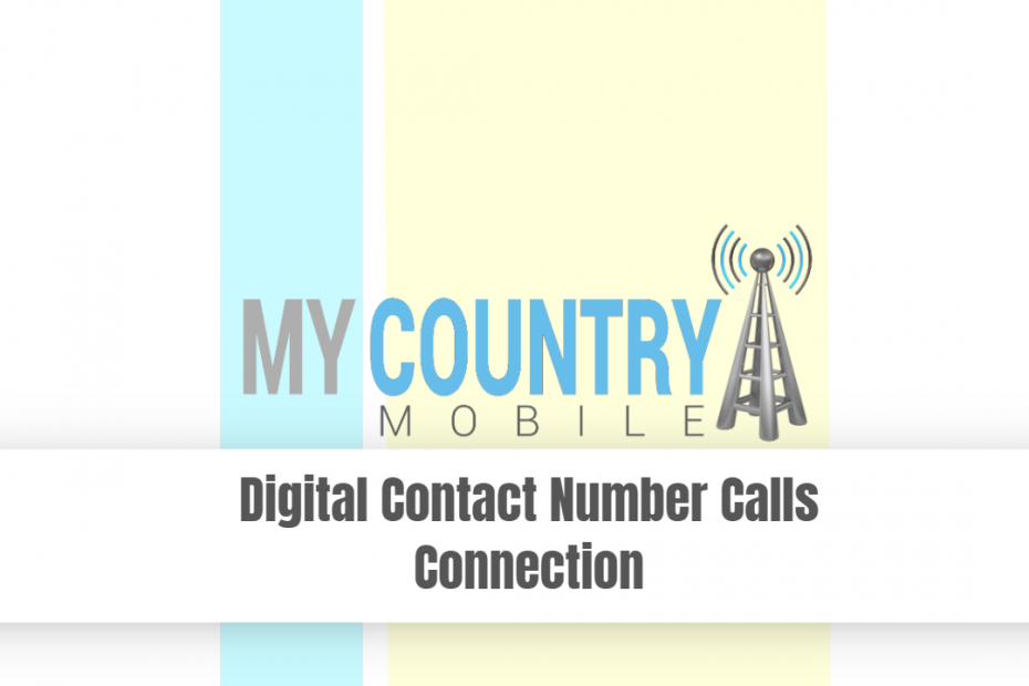Digital Contact Number Calls Connection - My Country Mobile